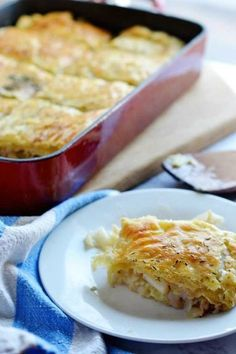 Cabbage Pie is an easy, inexpensive dish with a puff-pastry top. Great as a side-dish or with the addition of meat it can be a full meal.