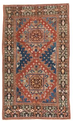 Bergama with Ghirlandaio design 300 x 175 cm (9ft. 10in. x 5ft. 9in.) Turkey Early 19th century