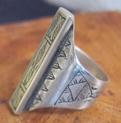 Tuareg Tribal Silver Ring by TuaregJewelry on Etsy, $109.00  Ineke Hemminga