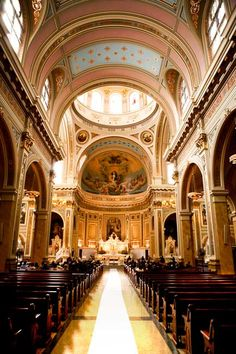 St.  Mary of the Angels Church in Chicago, where I was married - LOVE this church, they just don't make them this way anymore!