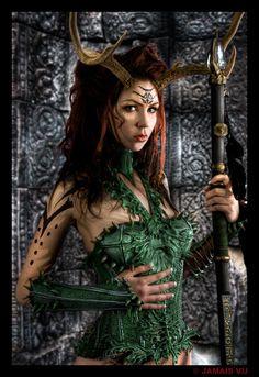 Druid Warrior by ~Lillyxandra