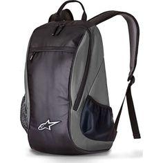 mochila impermeable p/ notebook alpinestars lite grey - fas Backpack Brands, Travel Backpack, Sling Backpack, Motorcycle Backpacks, Diaper Bag, Disc Golf, Motorcycle Accessories, Travel Accessories, Casual Bags