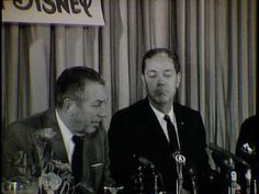 Governor Burns introduces Walt and Roy Disney, and Walt tells of their enthusiasm toward the new Disney facility in Florida. | Florida Memory