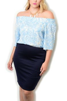 http://www.dhstyles.com/Blue-Navy-Plus-Size-Sexy-Trendy-Off-Shoulder-Flora-p/angel-71556x-blue-navy.htm