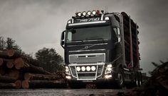 Volvo FH16-750 Euro 6 forestry truck. Volvo Trucks, Tamiya, Euro, Vehicles, Workout Exercises, Wood, Vehicle, Tools