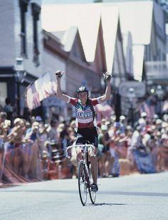 Inga Thompson (Team 7-11) 1980s