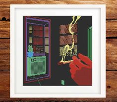 Wow…this piece from Smart Cross Stitch in Issue 12 hits all the senses!!! The sticky heat of the room...the lingering, stifling atmosphere...noises unheard…you can almost viscerally feel the drama that's about to unfold! Set your own scene - £8. Cross Stitch Designs, Drama, Scene, Magazine, Feelings, Digital, Room, Bedroom, Dramas