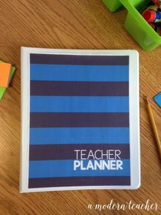 A Modern Teacher Varsity Prep Planner - A fresh, functional, and fabulous Teacher Binder to keep you organized! from www.amodernteacher.com $