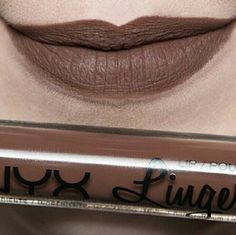 NYX Lip Lingerie Beauty Mark WILLING TO TRADE Only used once. Hated the color. Appears much darker on pale skin. NYX Makeup Lipstick