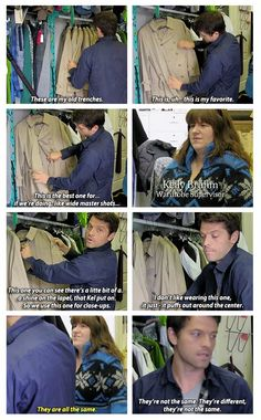 Behind the Scenes of Supernatural Season 9: A Fan's Perspective (mockumentary written and directed by Misha Collins) ... LOL OHH Misha you're so funny