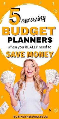 Looking for the best budget planners to track your finances? Here are 5 best budget planners and free budget printables to take control of your finances! Monthly Budget Planner, Printable Planner, Planner Stickers, Printables, Making A Budget, Create A Budget, Budgeting Finances, Budgeting Tips, Best Money Saving Tips