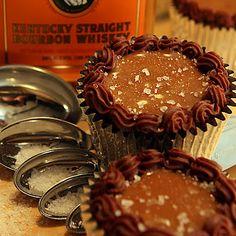 Salted-Caramel-Chocolate-Bourbon Cupcake