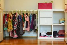 Montessori wardrobe