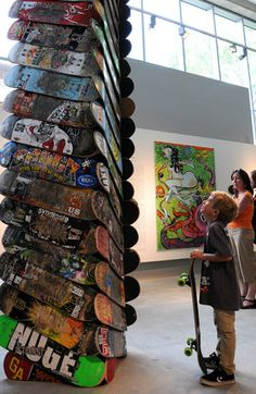 Gallery | Skate Peachtree event celebrates MODA exhibit | accessatlanta.com