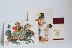 Arabic Order of Shriners NOTECARDS and Envelopes, Vintage Notecard Collection, vintage paper ephemera, Vintage collectible notecards