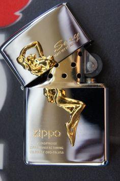 ZIPPO Gold-Plated Lighter