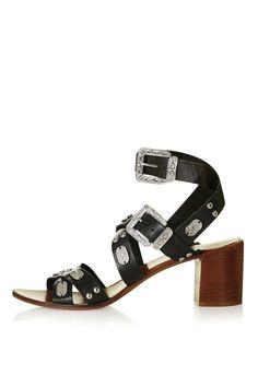 VERSE Western Heeled Sandals