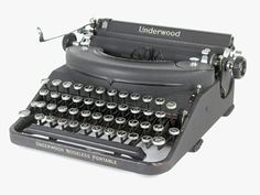 Underwood noiseless portable 1940 (Hemingway)