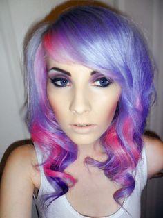 Pink/Purple hair