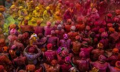 The Nandgaon Color Palette Photo by Shantanu Saha -- National Geographic Your Shot