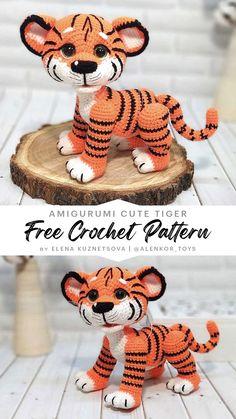 Crochet Lion, Crochet Animal Amigurumi, Crochet Baby Toys, Cute Crochet, Crochet Animals, Crochet Crafts, Crochet Baby Beanie, Crocheted Toys, Crochet Amigurumi Free Patterns