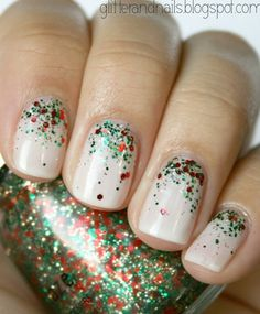 Dazzle your nails in nail varnish for the festive season