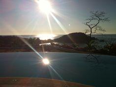 Taken at Secrets Resort & Spa Huatulco Mexico after sunrise yoga.