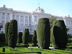 Royal Palace of Madrid - Sabatini Gardens