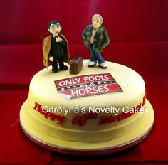 Only fools and horses cake Birthday Cakes For Women, Cakes For Men, Man Birthday, Childrens Cupcakes, Horror Cake, Only Fools And Horses, Handbag Cakes, Novelty Cakes, The Fool