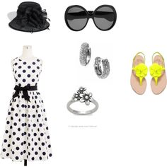 not the sandals...but every thing else? So 50s! <3