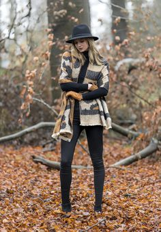 Pia Rossini Tamara Animal Print Blanket Scarf, Cameron Hat Black…