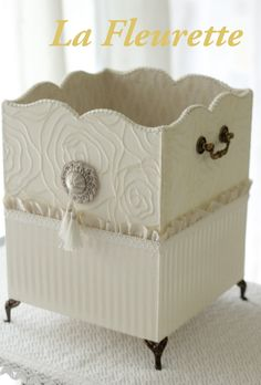 *La Fleurette Diary beautiful dust box