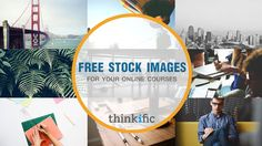 Stunning free stock images for online courses / ecourses. Perfect for anyone creating and selling courses online and needing photos to make their course look even more amazing!  ♡ Thinkific