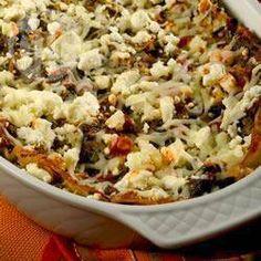 Lasagne aux artichauts et aux épinards @ qc.allrecipes.ca