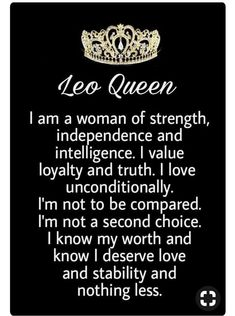Im happy i have my king that treats me like a queen loves me for who I am everything about me and so grateful for that Thank u my love I love you soo sooo much 💏🙏💓😙WITH you im HAPPY 💞 Leo Virgo Cusp, Leo Horoscope, Astrology Leo, Horoscopes, Leo Zodiac Facts, Zodiac Quotes, Leo Personality, All About Leo, Leo Girl