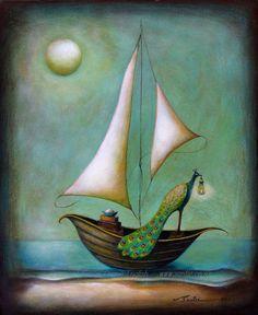 """Moontide"" by Santie Cronje"