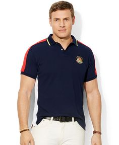 Polo Ralph Lauren Big and Tall Short Sleeve Knit Mesh Polo