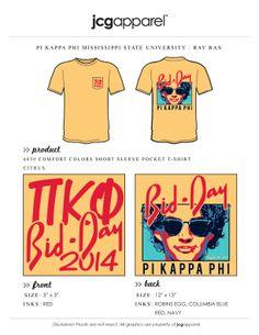 Pi Kappa Phi bid day