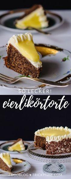 rezept für eine herrlich leckere eierlikörtorte ♥ trickytine.com