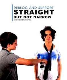 peeta and i are straight but not narrow  www.theravenscrossing.org  #ravenscrossing