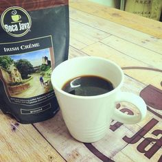 Taste the difference with Boca Java's Fresh Roasted Irish Creme Gourmet Coffee with Brazilian coffee beans.s Gourmet Coffee is roasted only after you place your order. Coffee Dessert, Fresh Coffee, Coffee Roasting, Coffee Beans, Irish, Chocolate, Desserts, Instagram, Gourmet