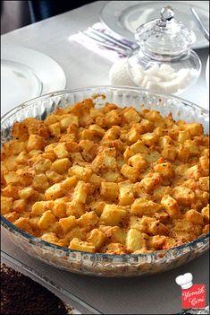 Fırınlanmış Patates Mantısı