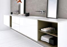 Strato Bathroom Furniture Set 12 von Inbani   Waschtischunterschränke