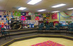 Music memory poster wall  #music #musicclassroom #choir #crafty #musicandart #musicteacher #classroom