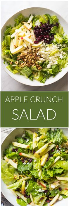 Could You Eat Pizza With Sort Two Diabetic Issues? Apple Crunch Salad - Simple Yet Flavorful Must Try Fall Salad Goes With Everything Littlebroken Salad Dressing Recipes, Pasta Salad Recipes, Vegetarian Recipes, Cooking Recipes, Healthy Recipes, Vegetarian Grilling, Healthy Grilling, Healthy Salads, Healthy Eating