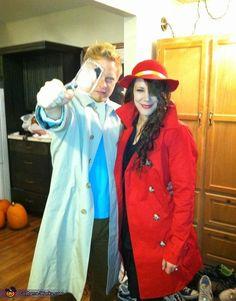 Tin-tin and Carmen Sandiego Costume - 2013 Halloween Costume Contest via @costumeworks