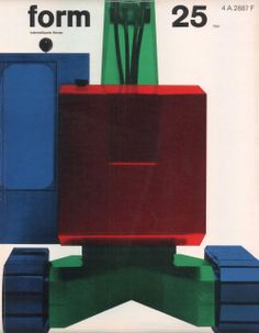 form N° 25. Mar 1964. Cover: Karl Oskar Blase. © Verlag form GmbH & Co. KG