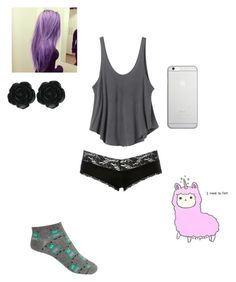 """""""Untitled #227"""" by kyleruniverse on Polyvore featuring Charlotte Russe, RVCA, Forever 21, Dollydagger and Native Union"""