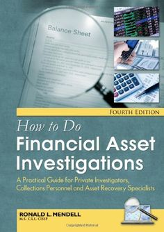 Download free How to Do Financial Asset Investigations: A Practical Guide for Private Investigators Collections Personnel and Asset Recovery Specialists pdf