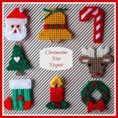 RESERVED for K Plastic Canvas: Christmastime by ReadySetSewbyEvie